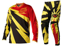 NEW 2014 TROY LEE DESIGNS TLD GP CYCLOPS MX GEAR COMBO YELLOW BLACK ALL SIZES