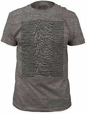 AUTHENTIC JOY DIVISION UNKNOWN PLEASURES MUSIC FITTED JERSEY SHIRT S M L XL 2XL