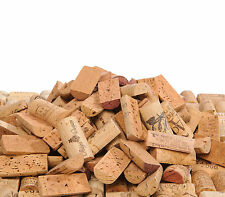 PRE CUT USED WINE CORKS HALVES- ALL NATURAL, NO SYNTHETIC, NO CHAMPAGNE