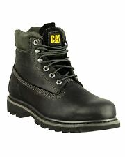 Caterpillar Bruiser Mens Boots Full Grain Leather Lace Up Stylish Footwear New