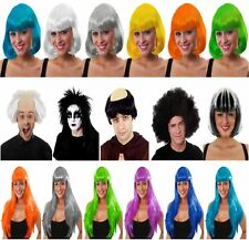 LADIES MENS FANCY DRESS WIG HALLOWEEN COSPLAY PARTY COSTUME OUTFIT ACCESSORY