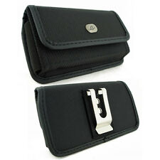 Rugged Heavy Duty Canvas Belt Clip Case w/ Velcro Closure for NOKIA Cell Phones