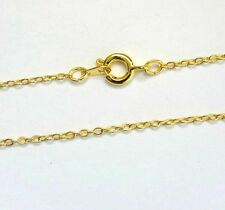 "Wholesale Gold Plated Necklace Chain 16 18 24"" Trace/Cable Chains"