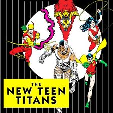 THE NEW TEEN TITANS Original DC Hand-Painted Colorguide Art by Adrienne Roy