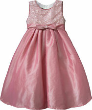 Isobella & Chloe Little Girls Pink Party & Special Occasion Dress Size 4 $62 NWT
