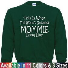 Worlds Greatest MOMMIE Mothers Day Christmas Mom Nana Gift Pullover Sweatshirt