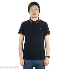 WEEKEND OFFENDER MENS SIZE S M L XL PITBULL TIPPED POLO SHIRT BLUE SS 2013