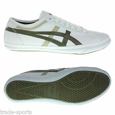 ASICS MENS BIKU CANVAS TRAINERS OFF WHITE SIZE 6.5 - 10.5 SHOES SPORTS CASUAL