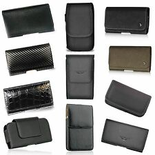 For Samsung Galaxy Note 3 III N9000 Premium Leather Pouch Cover Belt Clip Case