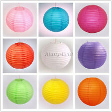 "2/6/10 x 8""10""12""14""16"" Chinese Paper Lantern Lampshade Party Wedding Decoration"