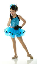 LOOK AT ME TURQUOISE Ballet Tutu w/Gloves Ballerina Dance Costume Adult & Child