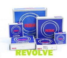 NSK 6000 6200 2RS Series Rubber Sealed Ball Bearings- Genuine NSK Free P&P