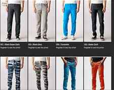 Neo Blue Skinny Jeans 2% Spandex 98% Cotton 15 Colors ALL SIZES 28-40 NWT