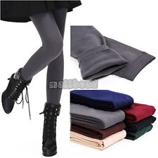 New Womens Warm Winter Skinny Slim Leggings Thick Footless Tights Stretch Pants