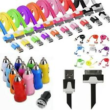 CHARGEUR CABLE USB COULEUR iPhone 3 3G 3GS 4 4S  iPad iPod et/ou ALLUME CIGARE