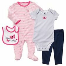 New Carter's 4 Piece Layette Set Butterfly Sleep n Play NWT Newborn 3m 6m 9m