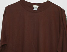 Patagonia BENEFICIAL T Organic cotton T-shirt  L/S  BLANK BROWN long sleeve