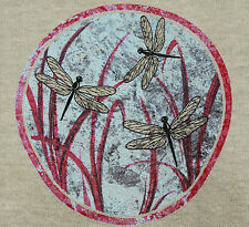 Earth Creations Hemp Organic Cotton DRAGONFLY Long Sleeve MADE IN THE USA green