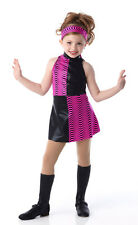 YEAH BABY Tap DRESS w/Head Wrap & Boots-Shoe Covers Dance Costume CHILD & ADULTS