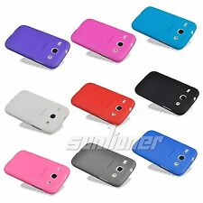 Gel Silicone TPU Case Cover for Samsung Galaxy Core,i8262,i8260+Screen Protector