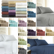 SouthShore Fine Linens - Aspen Lace - Extra Deep Pocket Bed Sheet Sets with Lace