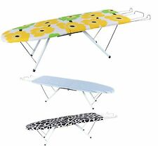 TABLE TOP IRON BOARD FOLDING FOLD ABLE IRONING STAND COMPACT CAMPING TRAVEL NEW