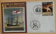Nelson Bicentenary Benham FDC Covers: 2005 Horatio Lord Nelson First Day Cover 2