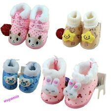 New 2014 winter Newborn Infants shoes kids girls boys Soft Warm Toddlers boots
