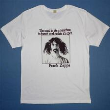 Frank Zappa, The mind is like a parachute, Men's White T shirt, Alternative