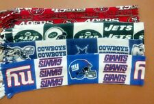 "NFL team fleece scarf approx 6"" x 60"""