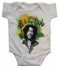 Bob Marley Baby Suit Onesie One Piece Romper (6-18 months) - OFFICIAL LICENSED