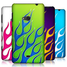 HEAD CASE DESIGNS FLAME DECAL CASE COVER FOR NOKIA LUMIA 625