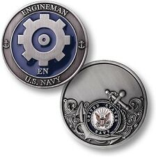 EN = Engineman ~ Snipes ~ U.S. Navy Engineering Challenge Coins ~ Navy ~