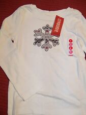 NWT Gymboree Penguin Chalet snowflake top 4 or 5  FREE SHIPPING Holiday/winter