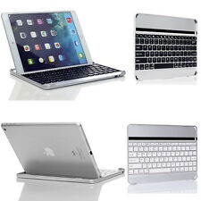For Apple iPad 3rd 4 2 iPad Air Aluminum Wireless Bluetooth Keyboard Case Cover
