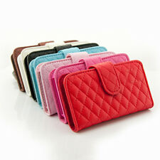 Flip Leather Case Wallet ID Card Credit Pouch Cover For Apple iPhone 4 4S 5 5G
