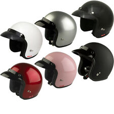 VIPER RS-04 MOTO MOBYLETTE SCOOTER JET VISAGE OUVERT RETRO CASQUE GHOSTBIKES