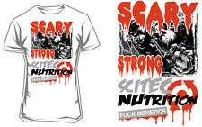 Scitec Nutrition T-Shirt Scary Strong - White