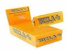 LiQUORiCE COATED RiZLA SMOKiNG ROLLiNG PAPERS 100 BOOKLETS SUPER HiGH QUALiTY