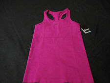 NIKE PRO WOMEN'S NEW BURGUNDY ATHLETIC TRAINING TANK TOPS SIZES L & XL