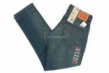 Levis 511 Pumped Up 045111025 - Slim Fit Stretch Jeans Medium Blue Skinny $58