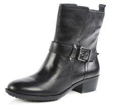 Arturo Chiang Women's Fedra Black Leather Ankle Boot