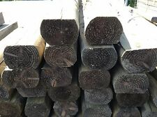 RAILWAY SLEEPERS 2.1M 7FT 125mm x 100mm TREATED TIMBER SLEEPER - LANDSCAPING