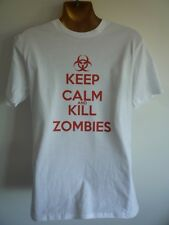 KEEP CALM AND KILL ZOMBIES MENS T-SHIRT THE WALKING DEAD COD BLACK OPS  FUNNY