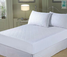 Luxury Quilted Fitted Mattress Protector, Bed Cover - Single, Double, King, SK
