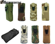 8Color Airsoft Tactical Molle PRC148 MBITR Radio/Walkie Talkie Pouch Bag Black B
