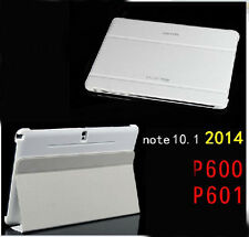 New Leather Case Book Cover Stand for Samsung GALAXY Note10.1 2014 Edition P600