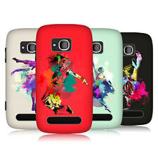 HEAD CASE DANCE SPLASH PROTECTIVE SNAP-ON BACK CASE COVER FOR NOKIA LUMIA 710