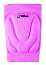 New Wilson Junior Sz Set of 2 PINK Volleyball KNEE PADS Cushioned Foam & Sleeve