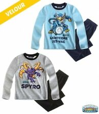 New Boys Skylander Pyjama Set Skylander Shirt & Pants Set Age 5-12 Years